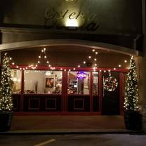 photo of osteria chef's table restaurant