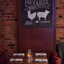 photo of mechant boeuf bar & brasserie restaurant