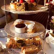 photo of afternoon tea at glen lodge restaurant