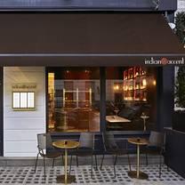 foto van indian accent restaurant