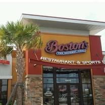 photo of boston's restaurant & sports bar - jacksonville restaurant