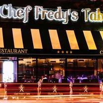 photo of chef fredy's table restaurant
