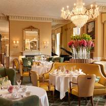 photo of the lord mayor's lounge at the shelbourne hotel restaurant