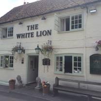 photo of the white lion restaurant
