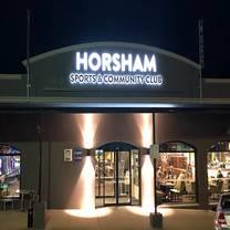 photo of horsham sports & community club restaurant