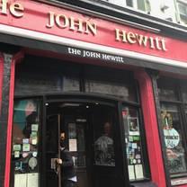 photo of the john hewitt restaurant