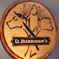photo of d. burnham's restaurant