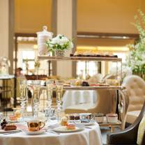 photo of afternoon tea at corinthia london restaurant