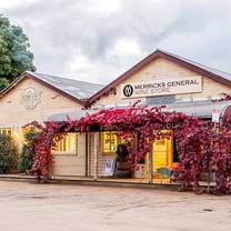 photo of merricks general wine store restaurant