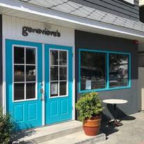 photo of genevieve's restaurant