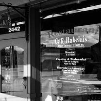photo of cafe rabelais restaurant