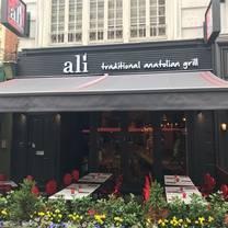 photo of ali ocakbasi london restaurant