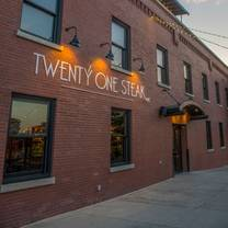 photo of twenty one steak restaurant