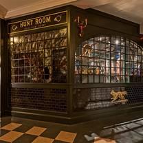 photo of hunt room restaurant