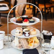 photo of afternoon tea at leicester square kitchen restaurant