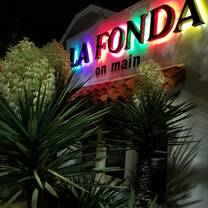 photo of la fonda on main restaurant