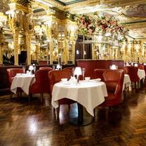photo of afternoon tea at hotel café royal restaurant