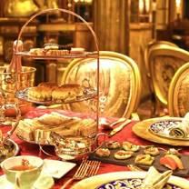 photo of high tea at dynasty restaurant