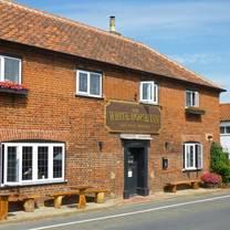 photo of the white horse inn restaurant