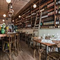 photo of terre pasta natural wine restaurant