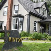 photo of minton restaurant