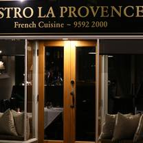 photo of bistro la provence restaurant