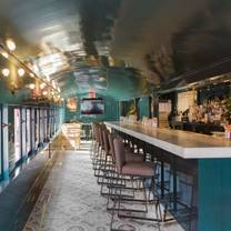 photo of club car restaurant