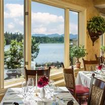 photo of the view restaurant at the mirror lake inn restaurant