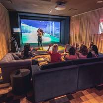 photo of topgolf swing suite at mgm grand detroit restaurant