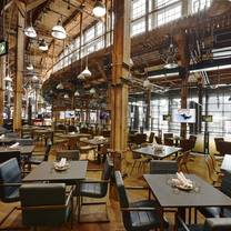 photo of the rec room - toronto roundhouse restaurant