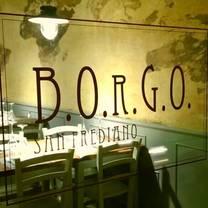 photo of b.o.r.g.o. restaurant