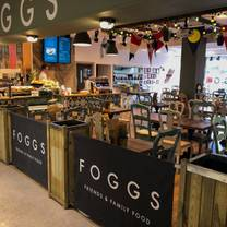 photo of afternoon tea at foggs restaurant