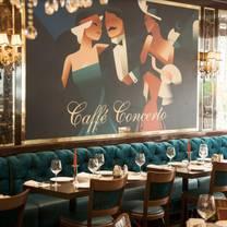 photo of caffé concerto - oxford street restaurant