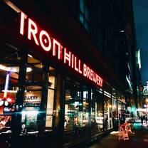 photo of iron hill - center city restaurant