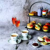photo of afternoon tea at malmaison manchester restaurant