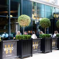 photo of wood manchester restaurant