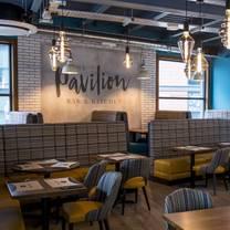 photo of the pavilion bar & kitchen restaurant