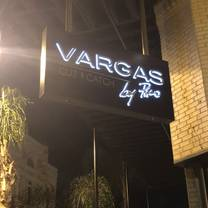photo of vargas cut & catch restaurant