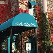 photo of nicollet island inn restaurant