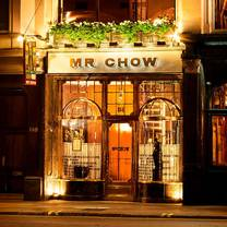 photo of mr chow restaurant