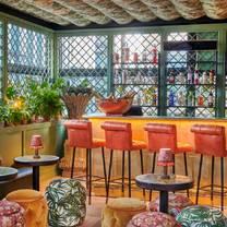 photo of the ivy roof garden, spinningfields restaurant