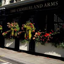 photo of the cumberland arms restaurant