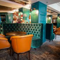 photo of boozy tea room restaurant