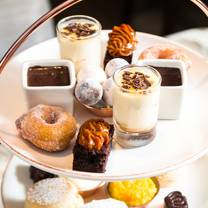 photo of afternoon tea at the may fair hotel restaurant