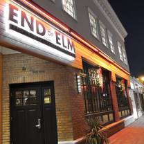 photo of end of elm restaurant