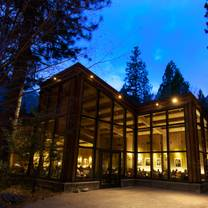 photo of yosemite valley lodge mountain room restaurant