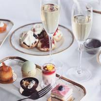 photo of afternoon tea at the waldorf hilton restaurant