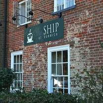photo of the ship at dunwich restaurant