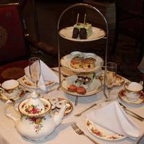 photo of rendezvous court traditional afternoon tea at the biltmore restaurant