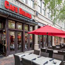 photo of cafe deluxe - bethesda restaurant